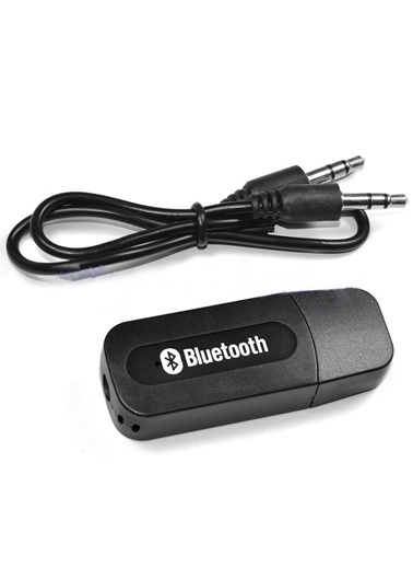 Techmaster Bluetooth Usb Aux Kit Bluetooth Alıcı Müzik Dinleme Android İos Renkli